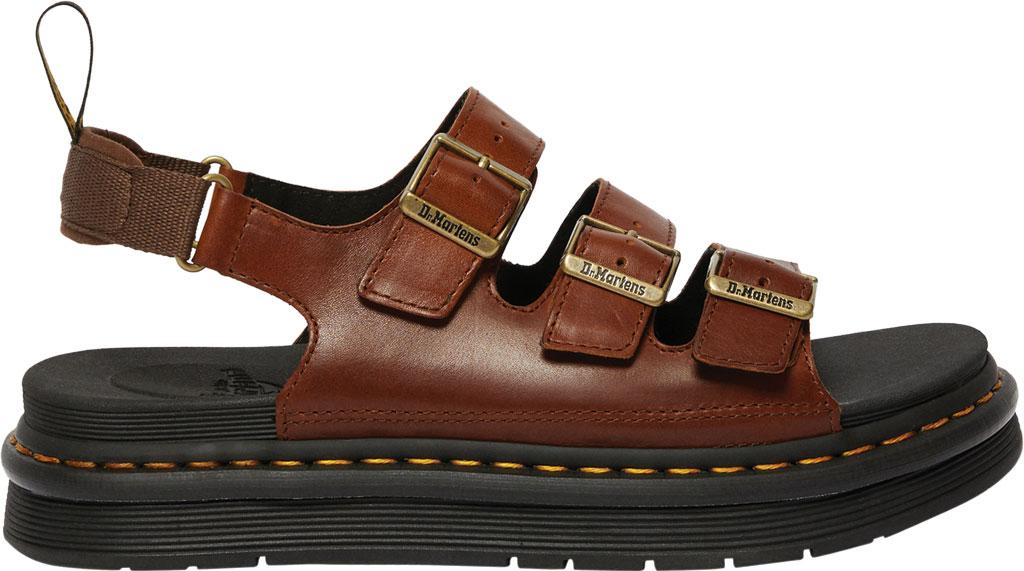 Men's Dr. Martens Soloman Walking Sandal, Tan Luxor Leather, large, image 2