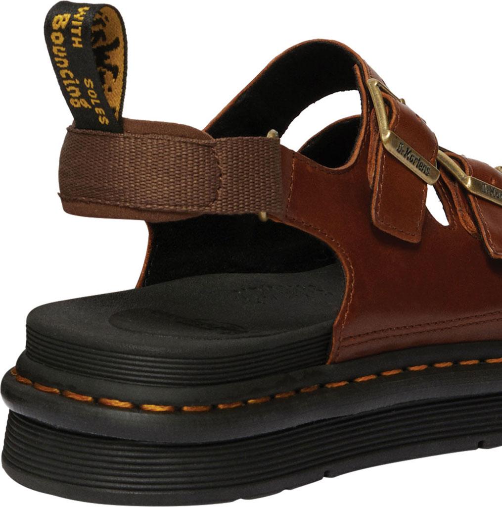 Men's Dr. Martens Soloman Walking Sandal, Tan Luxor Leather, large, image 3