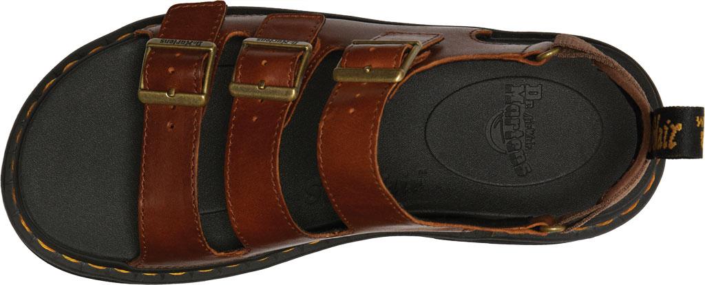 Men's Dr. Martens Soloman Walking Sandal, Tan Luxor Leather, large, image 4