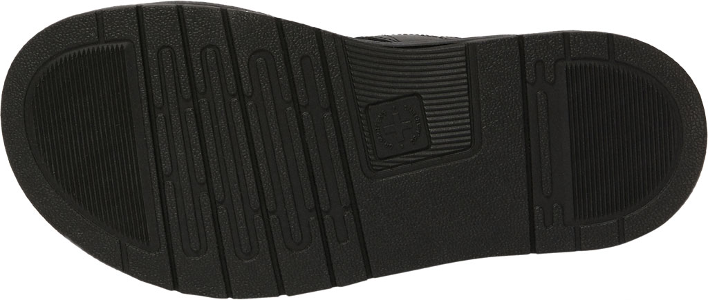 Men's Dr. Martens Chilton Two Strap Slide, Black Hydro PU Coated Leather, large, image 5