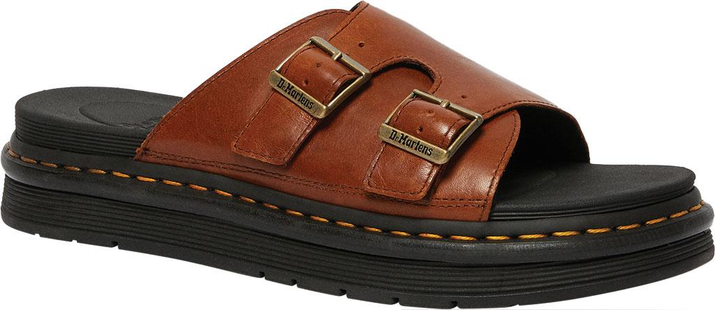 Men's Dr. Martens Dax Slide, Tan Luxor Leather, large, image 1