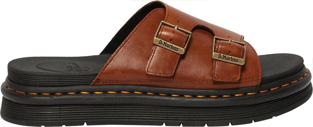 Men's Dr. Martens Dax Slide, Tan Luxor Leather, large, image 2