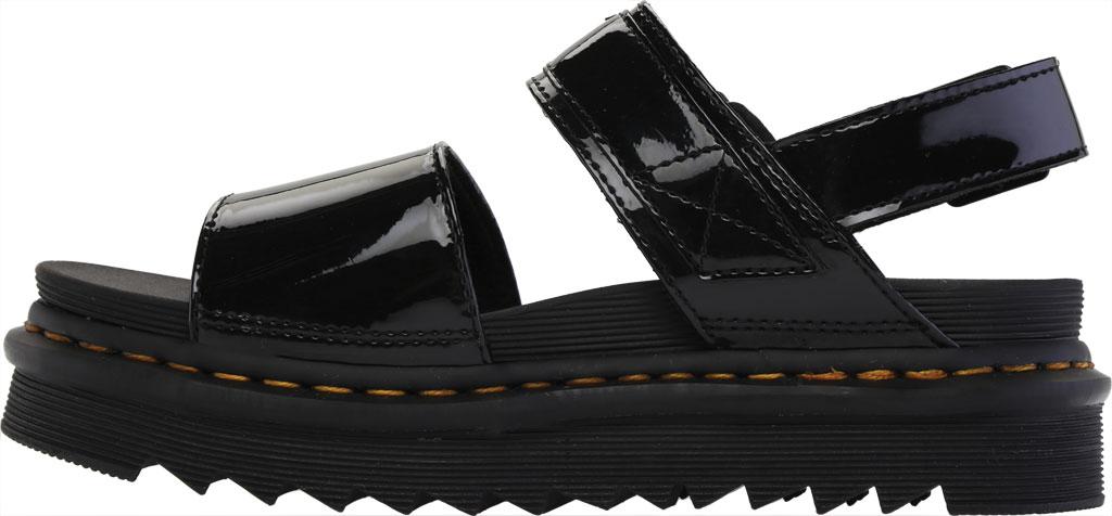 Women's Dr. Martens Voss Platform Slingback Sandal, Black Patent Lamper Leather, large, image 3