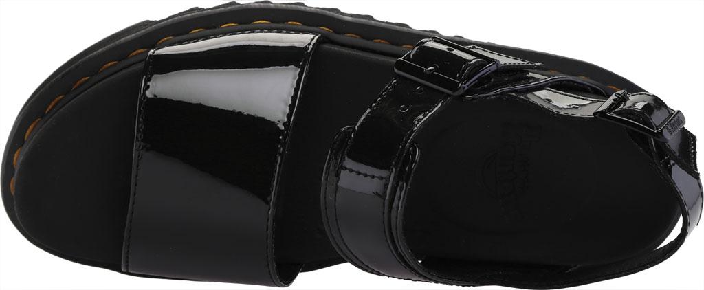 Women's Dr. Martens Voss Platform Slingback Sandal, Black Patent Lamper Leather, large, image 5