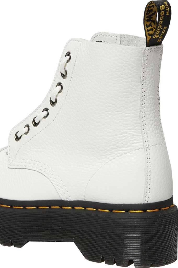 Women's Dr. Martens Sinclair Platform Boot, White Aunt Sally Leather, large, image 3