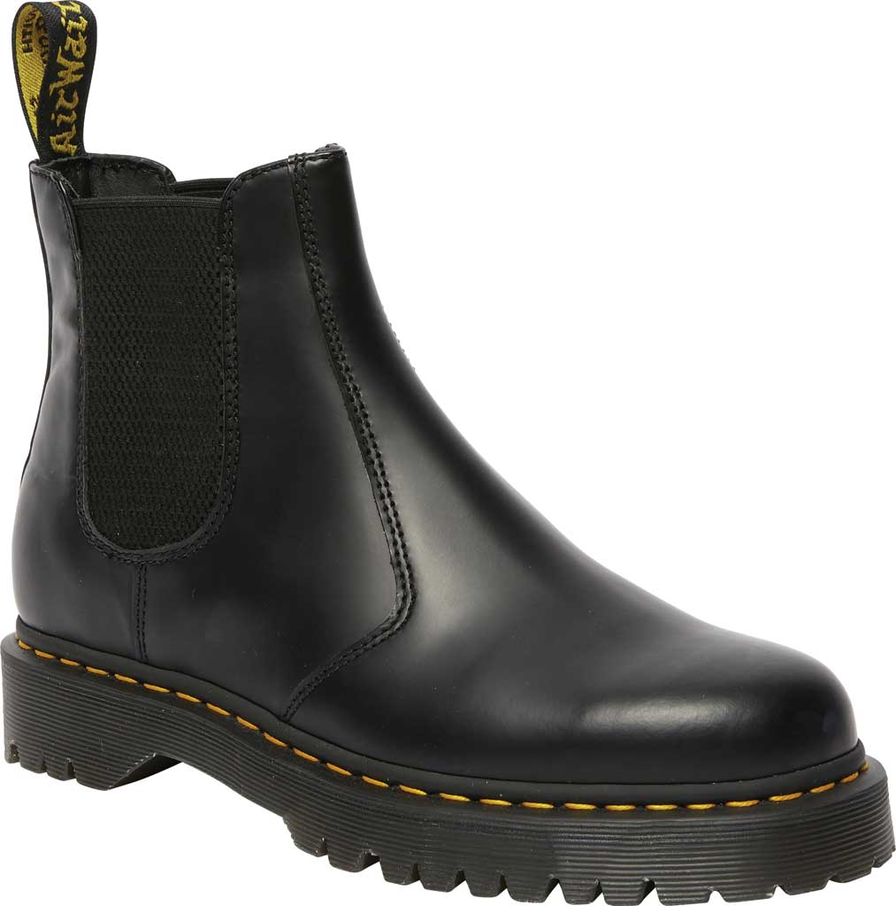 Dr. Martens 2976 Bex Chelsea Boot, Black Smooth Leather, large, image 1