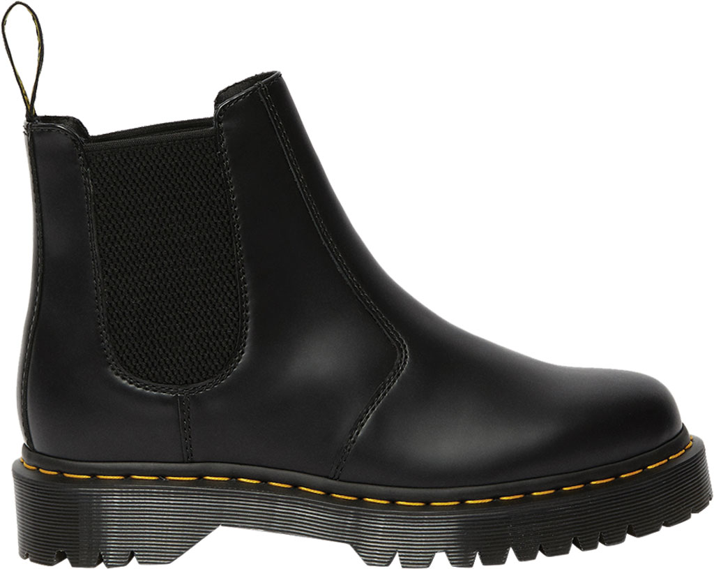 Dr. Martens 2976 Bex Chelsea Boot, Black Smooth Leather, large, image 2