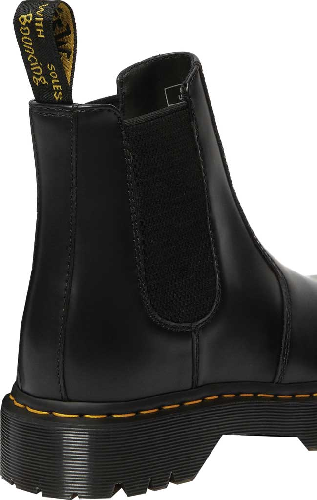 Dr. Martens 2976 Bex Chelsea Boot, Black Smooth Leather, large, image 3