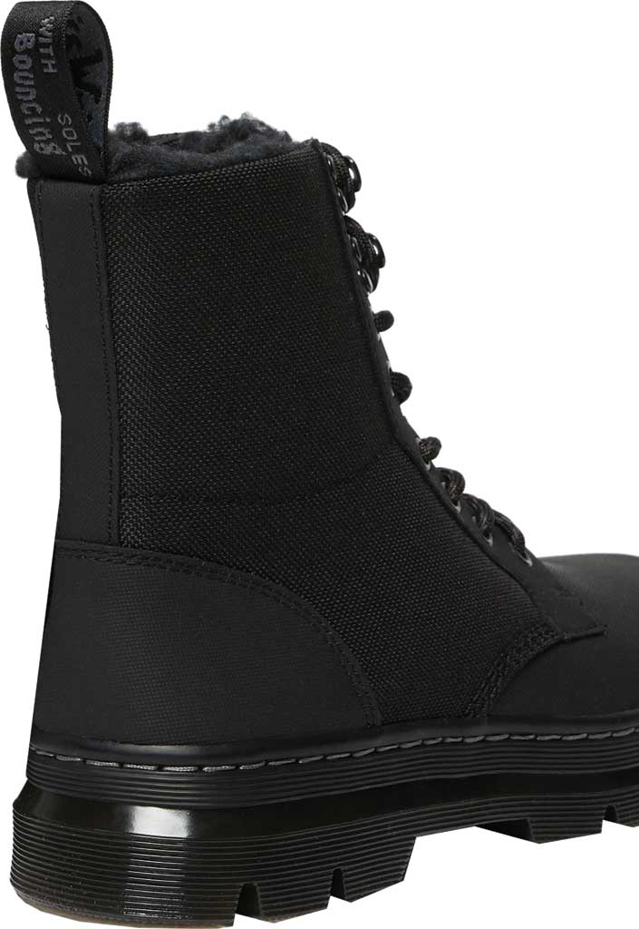 Dr. Martens Combs II Fur-Lined 8-Eye Boot, Thinsulate Black, large, image 3