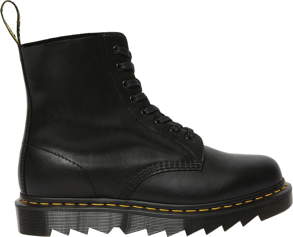 Men's Dr. Martens 1460 Pascal Ziggy 8-Eye Boot, Black Luxor Leather, large, image 2