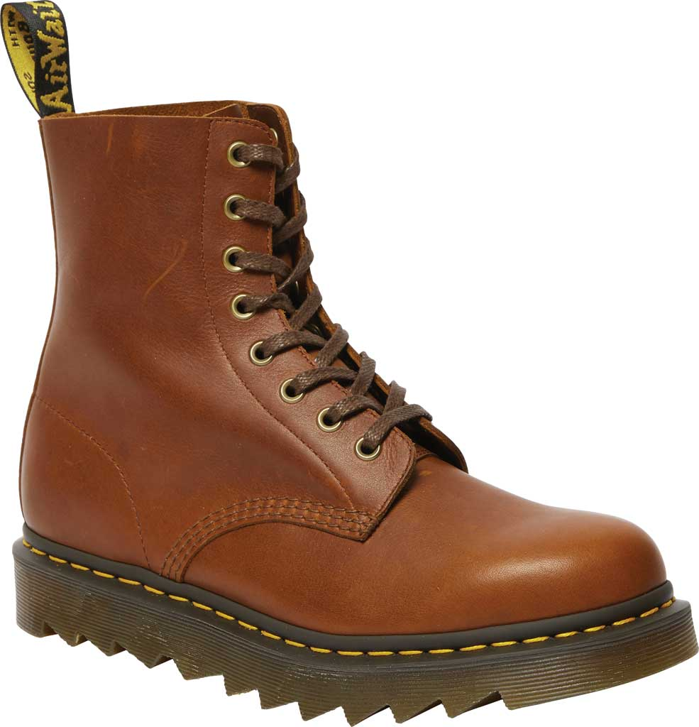 Men's Dr. Martens 1460 Pascal Ziggy 8-Eye Boot, Tan Luxor Leather, large, image 1