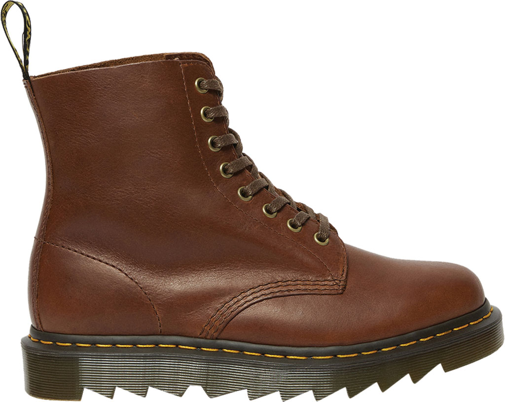 Men's Dr. Martens 1460 Pascal Ziggy 8-Eye Boot, Tan Luxor Leather, large, image 2