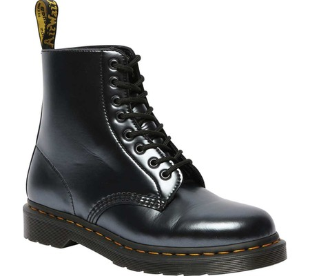 Dr. Martens 1460 Pascal 8-Eye Boot, Silver Chroma Leather, large, image 1