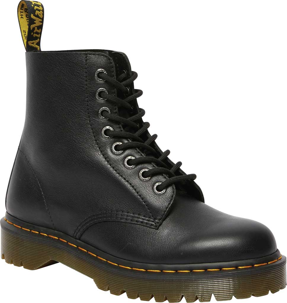 Dr. Martens 1460 Pascal Bex 8-Eye Boot, Black Pisa Leather, large, image 1