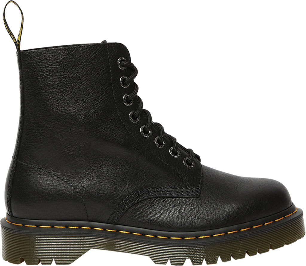Dr. Martens 1460 Pascal Bex 8-Eye Boot, Black Pisa Leather, large, image 2