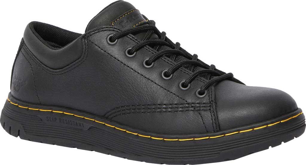 Dr. Martens Work Maltby Slip Resistant Work Shoe, Black Newark Leather, large, image 1