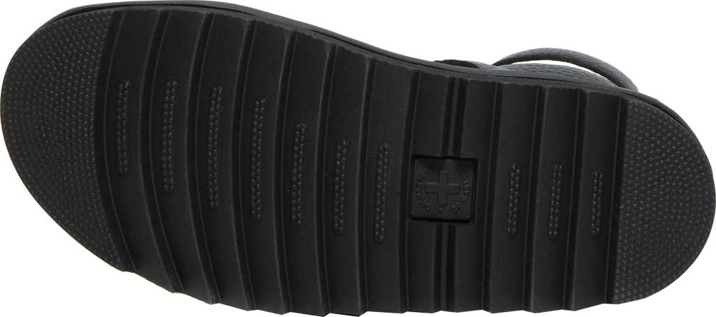 Women's Dr. Martens Olson Sandal, Black Aunt Sally Tumbled Leather, large, image 5