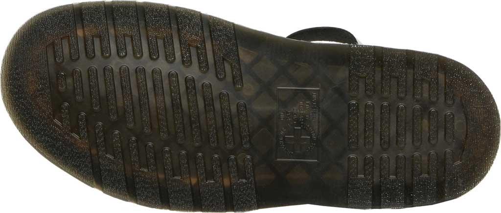 Dr. Martens Gryphon Metallic Calf Strap Sandal, Silver/Black Metallic Brush Calf, large, image 5