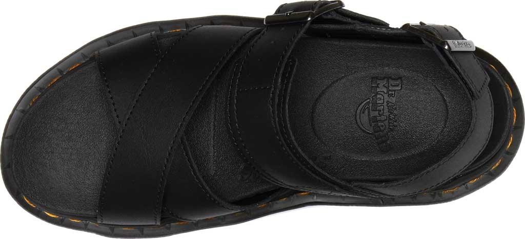 Women's Dr. Martens Voss II Sandal, Black Hydro Leather, large, image 4