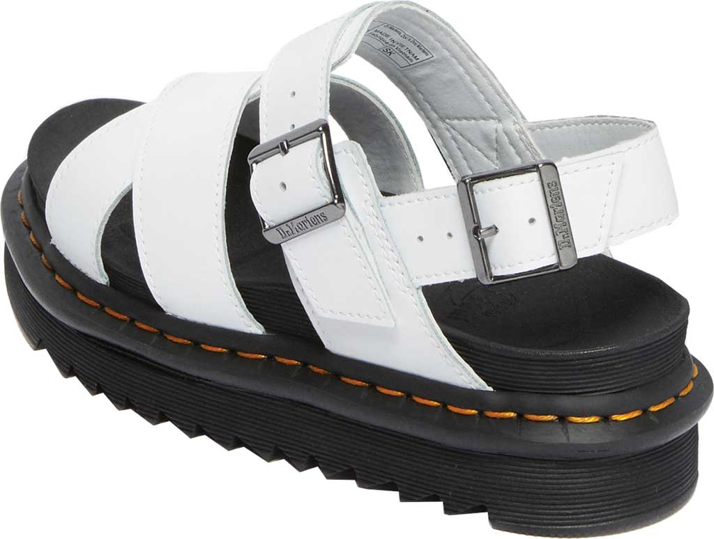 Women's Dr. Martens Voss II Sandal, White Hydro Leather, large, image 3