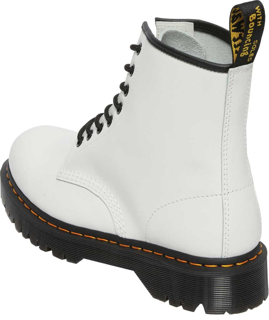 Dr. Martens 1460 Bex 8 Eye Boot, White Smooth Leather, large, image 3