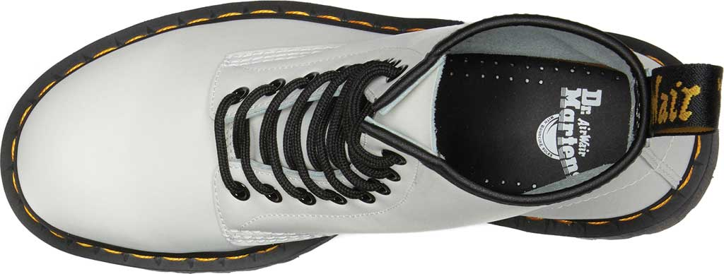 Dr. Martens 1460 Bex 8 Eye Boot, White Smooth Leather, large, image 4