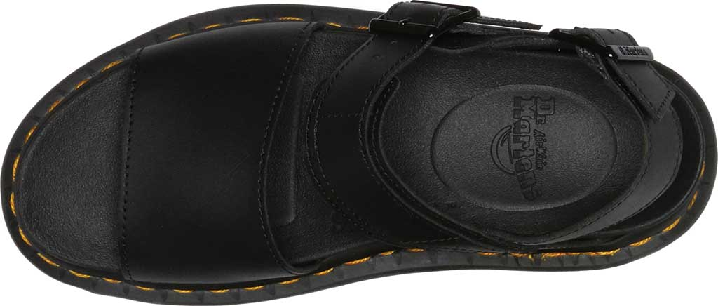 Women's Dr. Martens Voss Quad Sandal, Black Hydro Leather, large, image 4