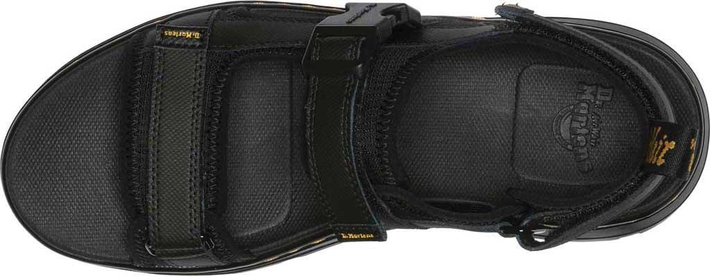 Dr. Martens Forster Sandal, Black Rip Stop Polyester/Element Split Leather, large, image 4