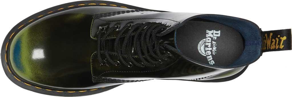 Dr. Martens 1460 Pascal Multi Arcadia 8 Eye Boot, Black/Marsh Green/Dark Teal Multi Arcadia Leather, large, image 4