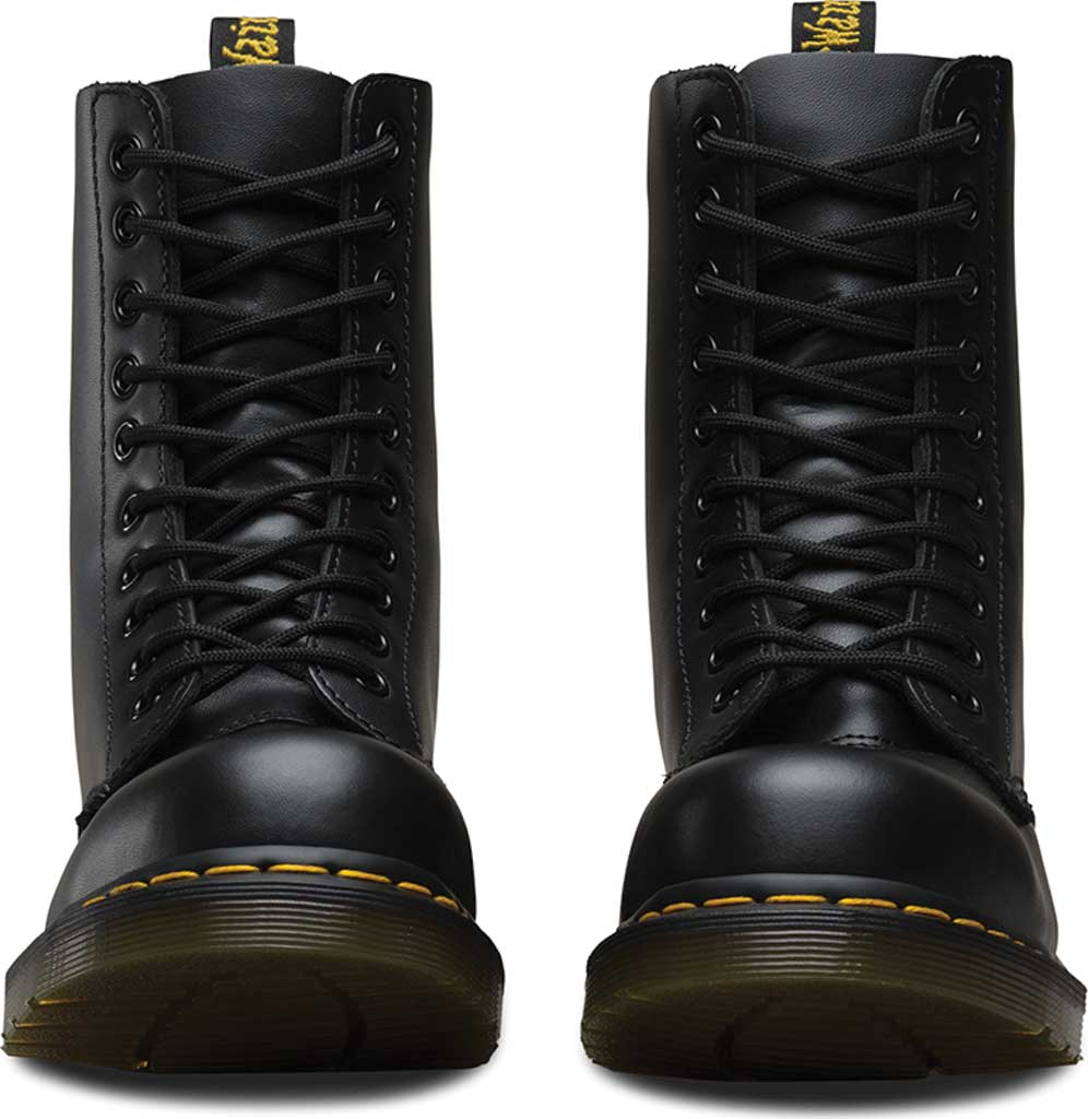 Dr. Martens 1919 10-Eye Steel Toe Boot, Black Fine Haircell, large, image 4