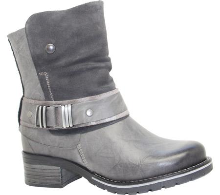 Women's Dromedaris Kikka Biker Boot, Slate Leather, large, image 1