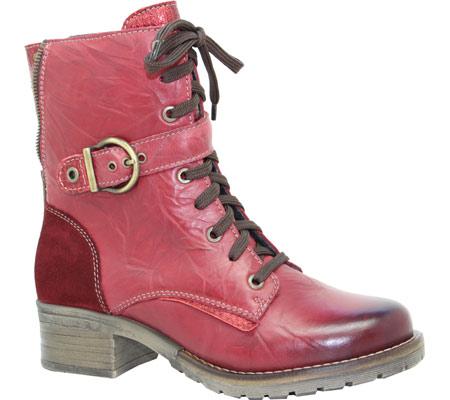 Women's Dromedaris Kimi Boot, Red Leather, large, image 1