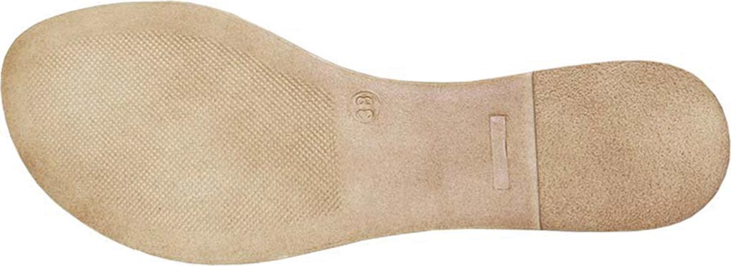 Women's Dromedaris Suzie Strappy Sandal, Platinum Metalized Leather, large, image 3