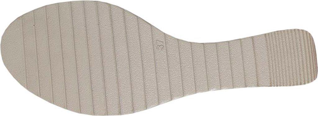 Women's Dromedaris Lucy Quarter Strap Sandal, Olive Waxed Leather, large, image 3