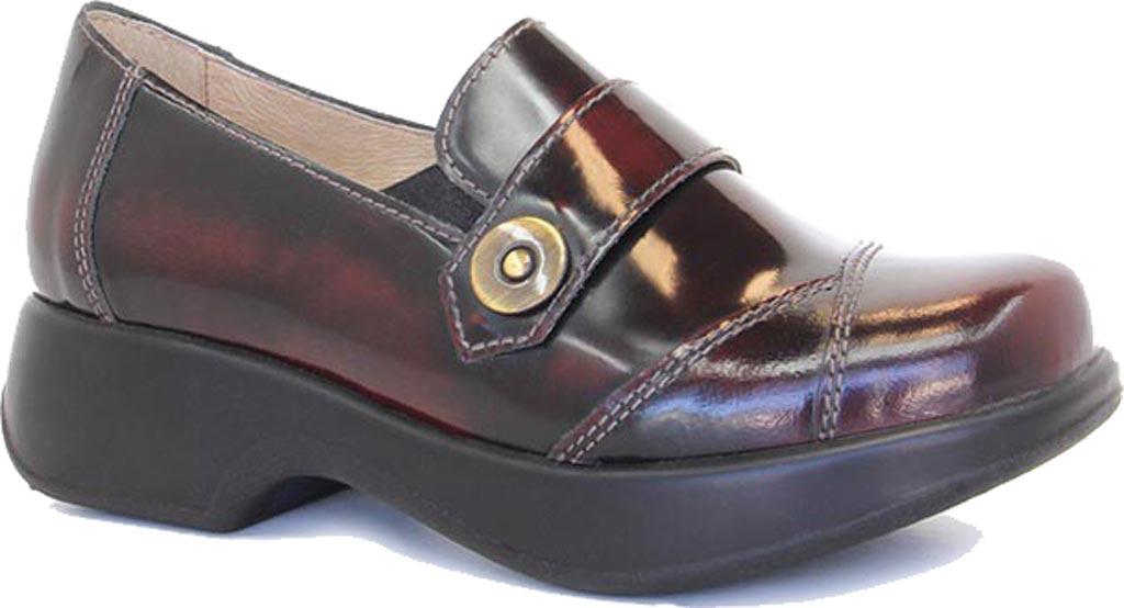 Women's Dromedaris Stella Loafer, Polished Coffee Bean Leather, large, image 1