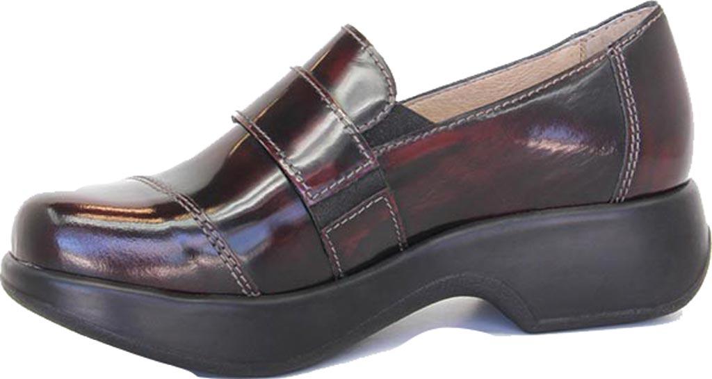 Women's Dromedaris Stella Loafer, Polished Coffee Bean Leather, large, image 2