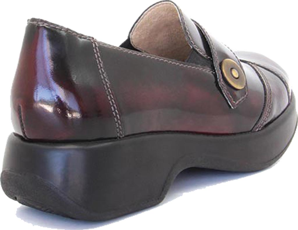 Women's Dromedaris Stella Loafer, Polished Coffee Bean Leather, large, image 3