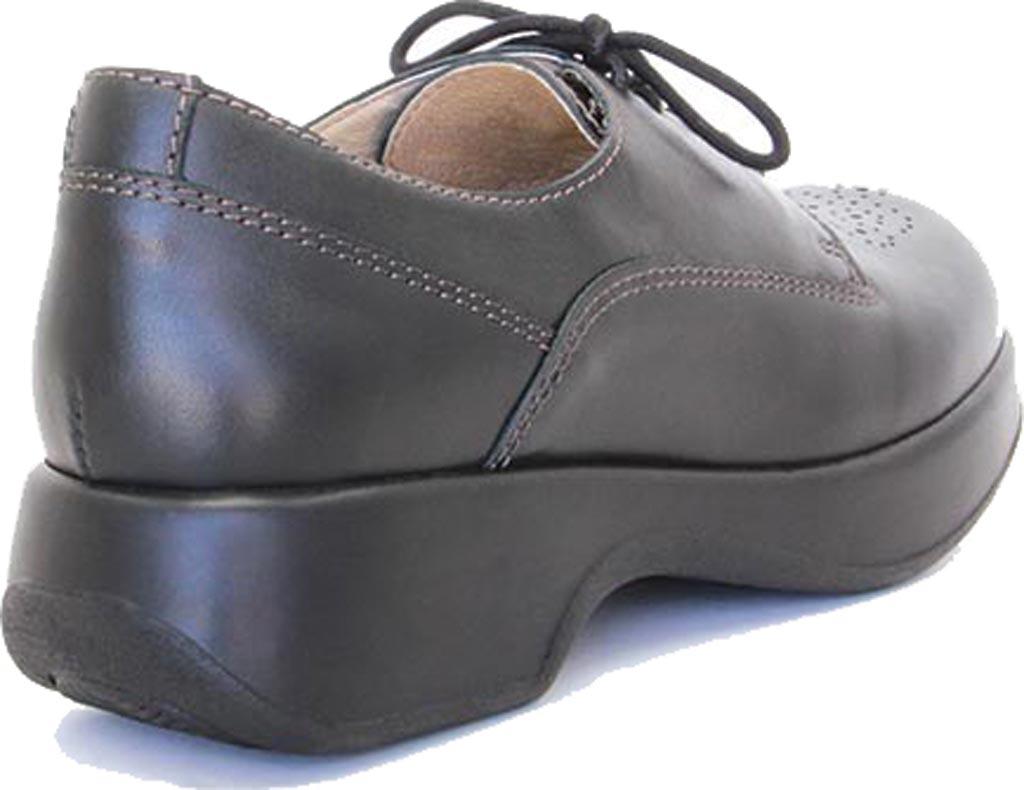 Women's Dromedaris Sade Oxford, Black Leather, large, image 3
