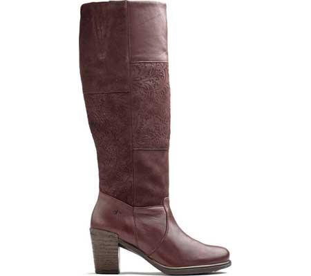 Women's Dromedaris Geneva Knee High Riding Boot, Wine Leather, large, image 1