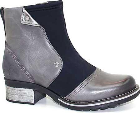 Women's Dromedaris Kassia Neoprene Ankle Boot, Slate Neo Leather, large, image 1