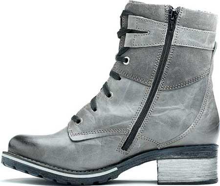 Women's Dromedaris Kara Embroidery Ankle Boot, Slate Leather, large, image 2