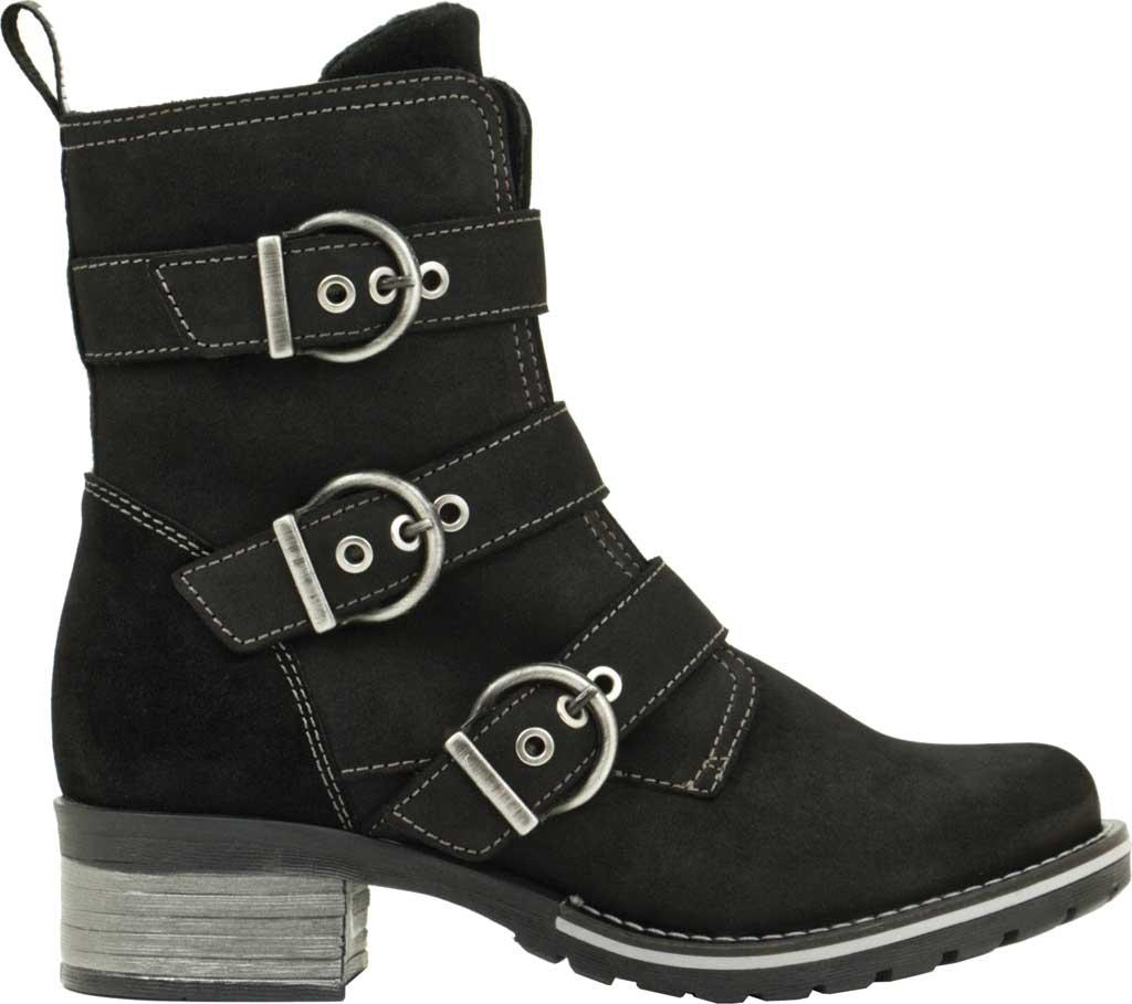 Women's Dromedaris Klara Ankle Boot, Black Suede, large, image 2
