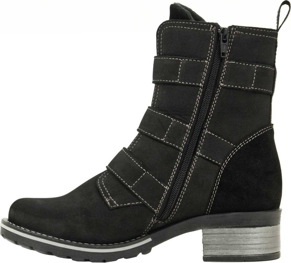 Women's Dromedaris Klara Ankle Boot, Black Suede, large, image 3