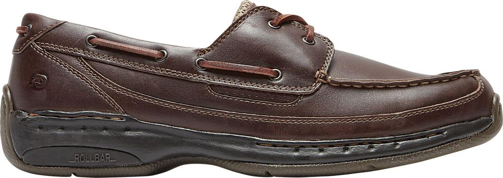 Men's Dunham Shoreline, Brown Leather, large, image 2