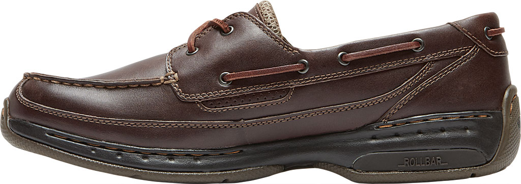 Men's Dunham Shoreline, Brown Leather, large, image 3