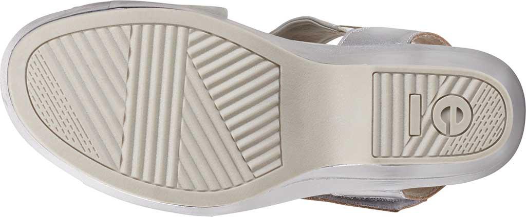 Women's Earth Khaya Kendi Slingback Sandal, Nickel Metallic Leather, large, image 5