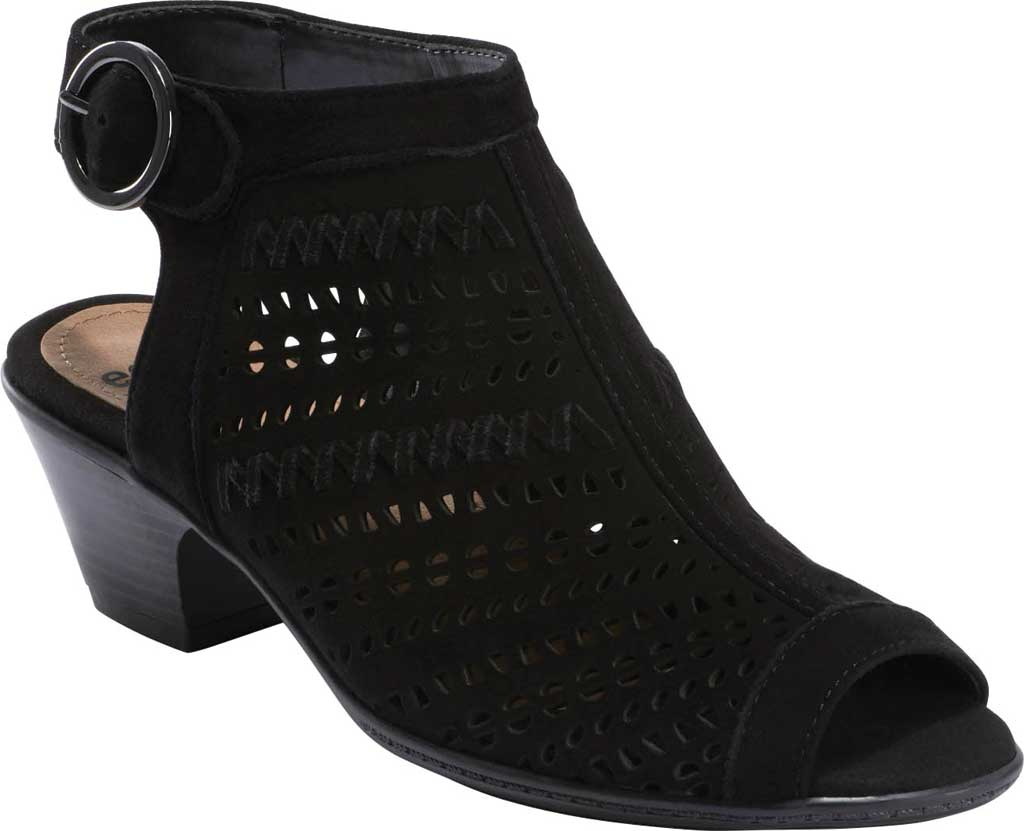 Women's Earth Carson 3 Hamden Perforated Open Toe Bootie, , large, image 1