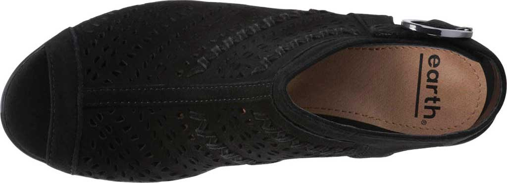 Women's Earth Carson 3 Hamden Perforated Open Toe Bootie, , large, image 4