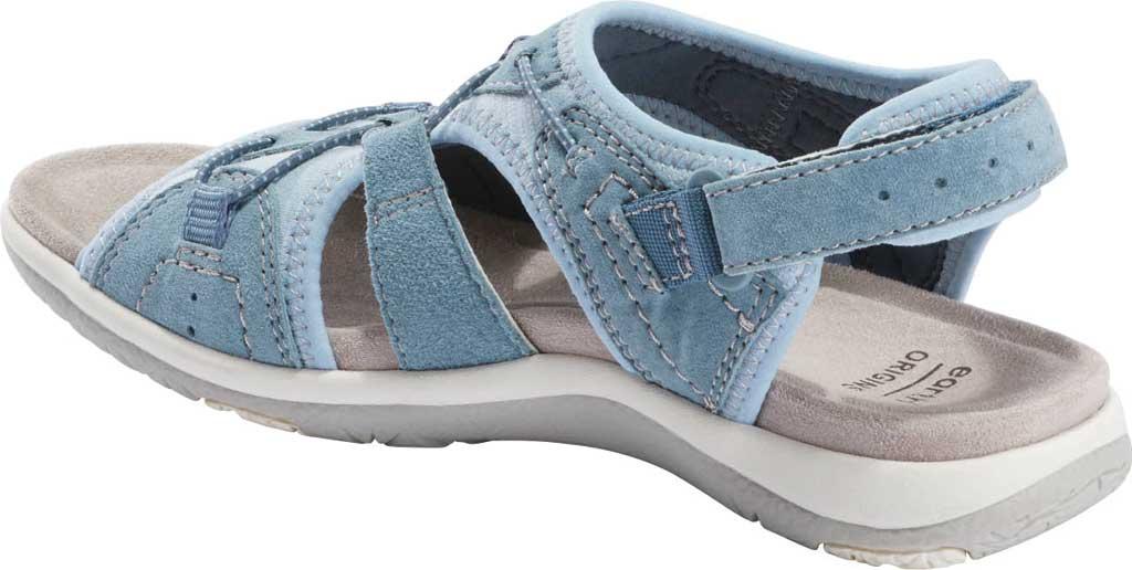 Women's Earth Origins Savoy Siena Slingback Sandal, Moroccan Blue Chrome Free Pig Suede, large, image 3