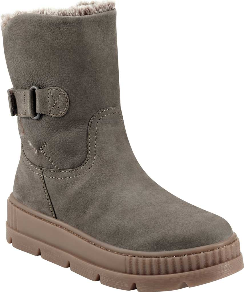 Women's Earth Oaklynn Eldora Ankle Bootie, Taupe Tumbled Nubuck, large, image 1